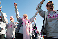 Annual Making Strides Against Breast Cancer walk from Opechee Park in Laconia.  Karen Bobotas/for the Laconia Daily Sun