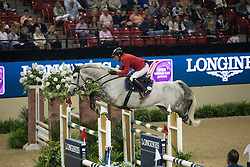 Dreher Hans Dieter, (GER), Cool and Easy<br /> Longines FEI World Cup™ Jumping Final I<br /> Las Vegas 2015<br />  © Hippo Foto - Dirk Caremans<br /> 17/04/15