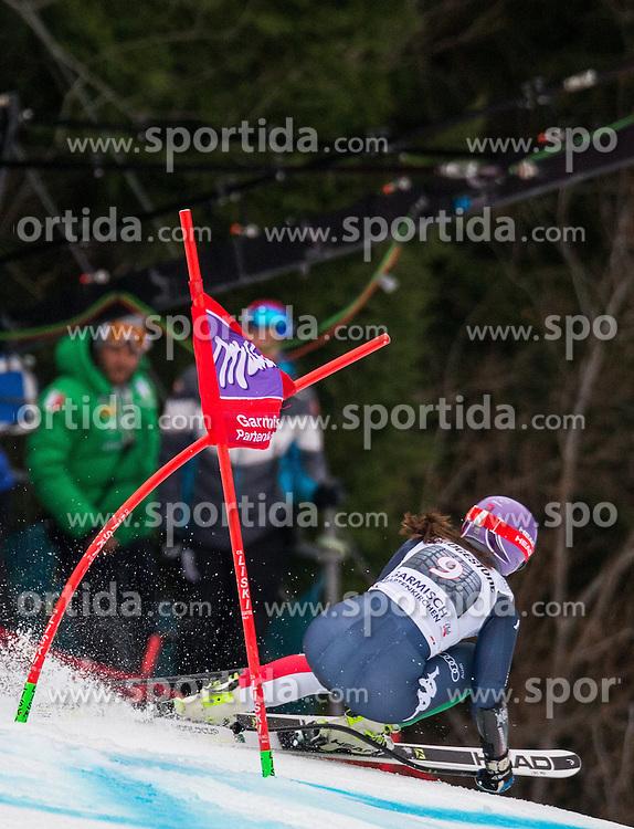 07.02.2016, Kandahar, Garmisch Partenkirchen, GER, FIS Weltcup Ski Alpin, Super G, Damen, im Bild Elena Curtoni (ITA) // Elena Curtoni of Italycompetes during the ladies SuperG of Garmisch FIS Ski Alpine World Cup at the Kandahar course in Garmisch Partenkirchen, Germany on 2016/02/07. EXPA Pictures © 2016, PhotoCredit: EXPA/ Johann Groder