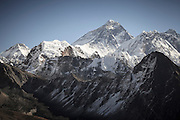 Mount Everest from Gokyo Ri. Sagarmatha National Park. Solukhumbu District. Nepal.
