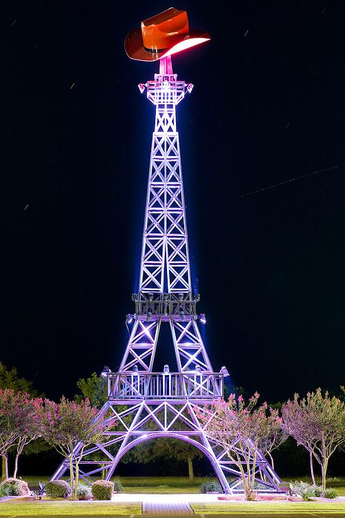 Eiffel Tower replica in Paris, Texas.