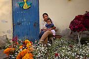 Dia de los Muertos, San Miguel de Allende, Mexico.