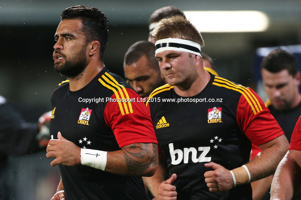 Liam Messam of the Chiefs before the Investec Super Rugby game between the Crusaders v Chiefs at AMI Stadium i Christchurch. 17 April 2015 Photo: Joseph Johnson/www.photosport.co.nz