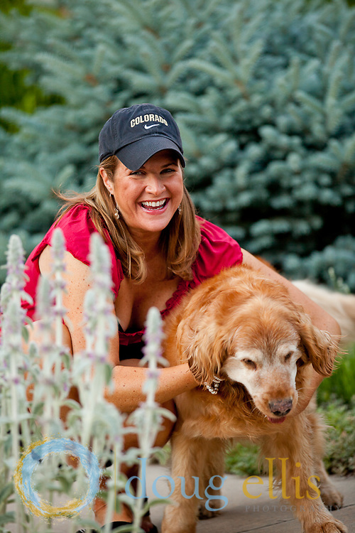 Gwynne Ellis and Katie, Pet Portraits in Denver, CO.