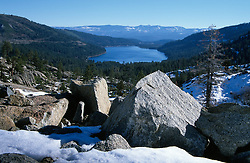 &quot;Donner Lake 3&quot;- Photographed from the west end of Donner Lake, facing toward the town of Truckee, CA.<br /> Photographed: November 2002