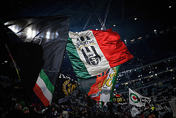 08.01.2017, Juventus Stadium, Turin, ITA, Serie A, Juventus Turin vs FC Bologna, 19. Runde, im Bild tifosi juventus èì, curva sud // juventus supporters during the Italian Serie A 19th round match between Juventus Turin and Bologna FC at the Juventus Stadium in Turin, Italy on 2017/01/08. EXPA Pictures © 2017, PhotoCredit: EXPA/ laPresse/ Marco Alpozzi<br /> <br /> *****ATTENTION - for AUT, SUI, CRO, SLO only*****