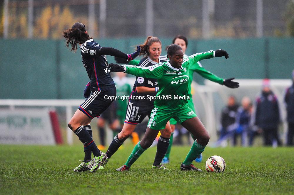 Teninsoun Sissoko  - 03.12.2014 - Saint Etienne / Lyon - 11eme journee de Division 1<br /> Photo : Thomas Pictures / Icon Sport