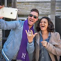 Northwestern Alumni taking a selfie