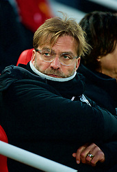 LIVERPOOL, ENGLAND - Saturday, March 3, 2018: Liverpool's manager Jürgen Klopp before the FA Premier League match between Liverpool FC and Newcastle United FC at Anfield. (Pic by Peter Powell/Propaganda)