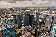 The Brickell area of downtown Miami.