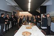 """Remise par l'Ordre des Architectes du Québec OAQ de la plaque honorifique pour le prix d'excellence en architecture PEA 2009 """"Aménagement intérieur (bureau)"""" à Gilles Saucier et André Perrotte architectes. -  Bureaux Saucier + Perrotte architectes / Montreal / Canada / 2009-10-09, Marc Gibert/ adecom.ca"""