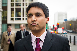 © Licensed to London News Pictures. 05/02/2016. London, UK. Flash Trader NAVINDER SINGH SARAO leaves Westminster Magistrates court in London. Sarao, nicknamed the Hound of Hounslow, is accused of contributing to the 2010 flash crash. He has been charged with 22 counts of fraud and market manipulation by the US authorities who want to extradite him. Photo credit: Ben Cawthra/LNP