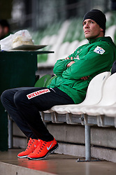 06.01.2014, Weserstadion, Bremen, GER, 1. FBL, SV Werder Bremen, Training, im Bild Clemens Fritz (SV Werder Bremen #8) beim Laktattest // Clemens Fritz (SV Werder Bremen #8) beim Laktattest during the training session of the German Bundesliga Club SV Werder Bremen at the Weserstadion in Bremen, Germany on 2014/01/06. EXPA Pictures © 2014, PhotoCredit: EXPA/ Andreas Gumz<br /> <br /> *****ATTENTION - OUT of GER*****