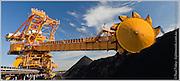 Reclaimer, Port Waratah Coal Services, Kooragang Island, Newcastle NSW, Australia