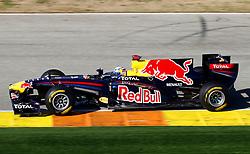 Motorsports / Formula 1: World Championship 2011, Test Valencia, Mark Webber ( AUS, Red Bull Racing )