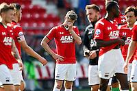 ALKMAAR - 23-08-15, AZ - Willem II, AFAS Stadion, 0-0, teleurstelling bij AZ speler Robert Muhren (m).