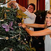 NLD/Amsterdam/20111208- Sky Radio Christmas tree for Charity, Kees Tol en kim Kotter