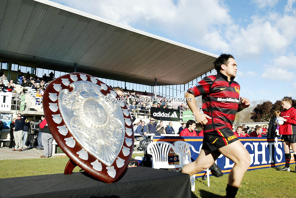2nd July, 2003. Centennial Park, Omaru, New Zealand. Ranfurly Shield Challenge. North Otago v Canterbury.<br />