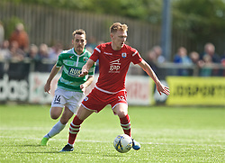 RHOSYMEDRE, WALES - Sunday, May 5, 2019: Connah's Quay Nomads' Declan Poole during the FAW JD Welsh Cup Final between Connah's Quay Nomads FC and The New Saints FC at The Rock. (Pic by David Rawcliffe/Propaganda)