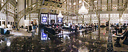 Inside the Trump International Hotel in Washington. The hotel is the Old Post House that were converted to a hotel with the help of finances from Deutsche Bank.