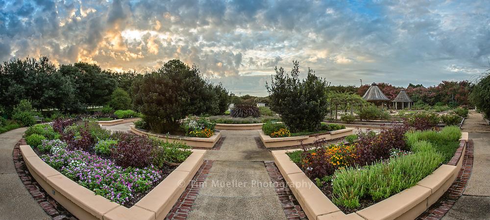 Botanical Garden Redstickstock