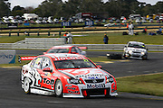 Will Davison in the Holden Racing Team Commodore during the Norton 360 Sandown Challenge held at the Sandown International Motor Raceway, Victoria on Sunday 2nd August. 2009 V8 Supercar Series Rounds 13 and 14. Photo © Clay Cross/PHOTOSPORT