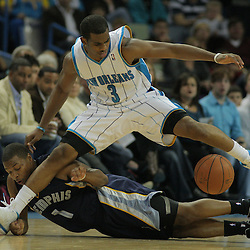 12-06 Grizzlies at Hornets