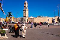 Maroc, Casablanca, place des Nations Unis, // Morocco, Casablanca, United Nation (Nation Unis) square