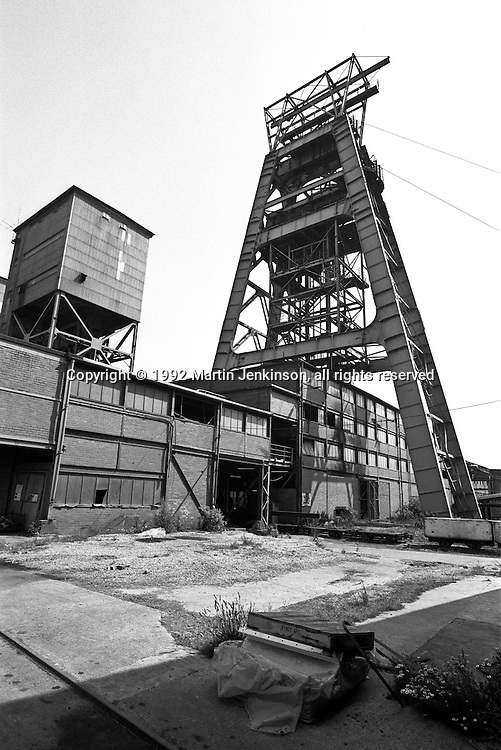 Brodsworth Colliery, Woodlands. British Coal Doncaster Area. 20.07.1990.