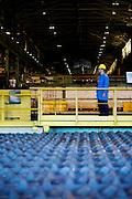 Ouro Branco_MG, Brasil...Setor de resfriamento de tarugos de uma industria siderurgica...The cooling sector of round bar at steel industry...Foto: BRUNO MAGALHAES / NITRO