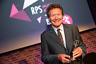 Harry Christophers, Artistic Director of The Sixteen<br /> Winners of the RPS Music Award for Ensemble<br /> Photographed at the RPS Music Awards, London, Wednesday 9 May<br /> Photo credit required:  Simon Jay Price<br /> www.rpsmusicawards.com  #RPSMusicAwards