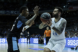 April 29, 2018 - Madrid, Madrid, Spain - JEFFERY TAYLOR  of Real Madrid in action during a Liga Endesa Basketball game between Estudiantes and Real Madrid, at the Palacio de los Deportes, in Madrid, Spain, 29 April 2018. (Credit Image: © Oscar Gonzalez/NurPhoto via ZUMA Press)