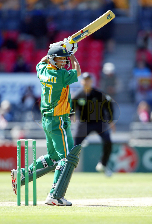 17 February 2004. New Zealand vs South Africa International one day cricket at Jade Stadium, Christchurch, New Zealand. Match 2 in series of 6..Boeta Dippenaar..Please credit: Andrew Cornaga/Photosport