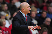 November 28, 2011; Moraga, CA, USA; Saint Mary's Gaels head coach Randy Bennett instructs during the first half of the Shamrock Office Solutions Classic championship game against the Weber State Wildcats at McKeon Pavilion. The Gaels defeated the Wildcats 87-70.