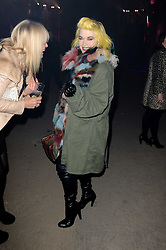 PAM HOGG at the launch of 2 collections by jeweller Stephen Webster - ÔThe 7 Deadly SinsÕ and ÔNo RegretsÕ held at The Old Vics Tunnels, Under Waterloo Station, Off Leake Street, London SE1 on 8th December 2010.<br /> PAM HOGG at the launch of 2 collections by jeweller Stephen Webster - 'The 7 Deadly Sins' and 'No Regrets' held at The Old Vics Tunnels, Under Waterloo Station, Off Leake Street, London SE1 on 8th December 2010.