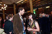 BEN MARKOVITZ; RUTH PADEL, 30th Anniversary of the London Review of Books.  One Whitehall Place. ( National Liberal Club) London SW1. 29 October 2009