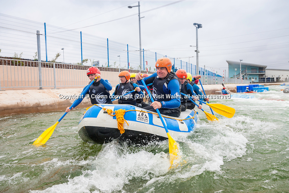 White Water Rafting<br /> Cardiff Bay<br /> Cardiff<br /> South