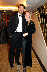 England international footballer TONY ADAMS and his wife POPPY at a dinner in aid of the BAAF (British Association for Adoption & Fostering) held at The Savoy, London on 22nd March 2005.<br /><br />NON EXCLUSIVE - WORLD RIGHTS
