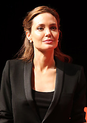 Image licensed to i-Images Picture Agency. 12/06/2014. Angelina Jolie listens to speakers on day three of the End Sexual Violence in Conflict  Global Summit in London.  Picture by Stephen Lock / i-Images