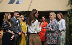 The Duchess of Cambridge at Chelsea Flower Show - 20 May 2019