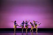 SCU Presents performs Images 2018 during dress rehearsal at Santa Clara University's Louis B. Mayer Theatre in Santa Clara, California, on February 6 - 7, 2018. (Stan Olszewski/SOSKIphoto)