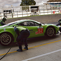 Krohn Racing - Ferrari 458 Italia - minor adjustments after first lap of practice