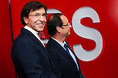 20111130 Hollande visits Di Rupo