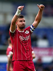 Bailey Wright of Bristol City celebrates the win over Ipswich Town - Mandatory by-line: Robbie Stephenson/JMP - 30/09/2017 - FOOTBALL - Portman Road - Ipswich, England - Ipswich Town v Bristol City - Sky Bet Championship