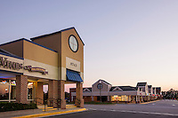 Architectural photo of Piney Orchard Marketplace and Shops by Jeffrey Sauers of Commercial Photographics