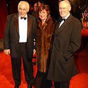 Miljonairfair 2004, Gerrit van der Valk, partner Toos van Capelle en Rinus Michels