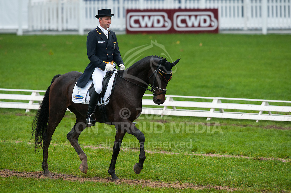 Andreas Dibowski (GER) & Hans Dampf CR - Dressage - 6 Year Old Horses - Mondial du Lion - FEI World Championship for Young Horses - Le Lion d'Angers, France - 18 October 2012