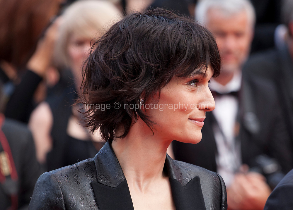 Actress Clotilde Hesme at Twin Peaks gala screening at the 70th Cannes Film Festival Thursday 25th May 2017, Cannes, France. Photo credit: Doreen Kennedy