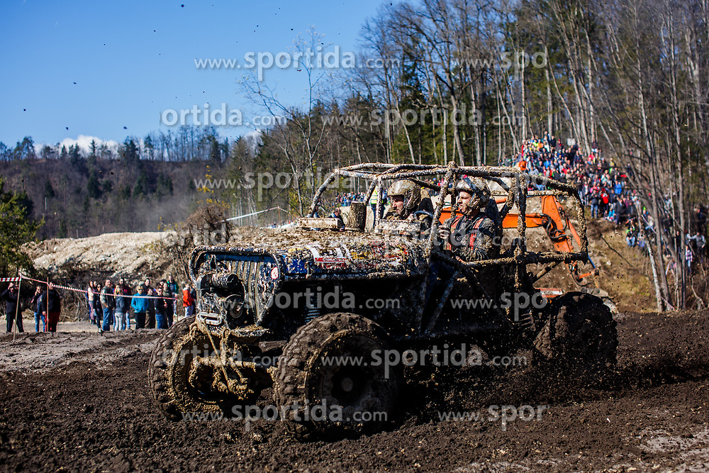 Slovenia Off Road 2017 race competition in gravel yard on 12th of March, 2017, Radovljica, Slovenia. Photo by Grega Valancic / Sportida