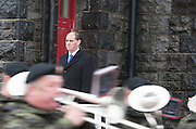 06/11/2014 Scenes from Minister of State Mr Paul Kehoe T.D.  reviewing the Lebanon Bound 47th Infantry Group  in Renmore Barracks, Galway.. Photo:Andrew Downes